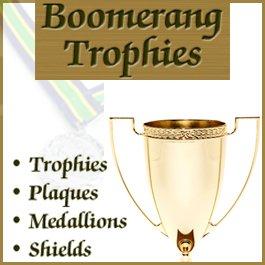 sponsor logo: Boomerang Trophies